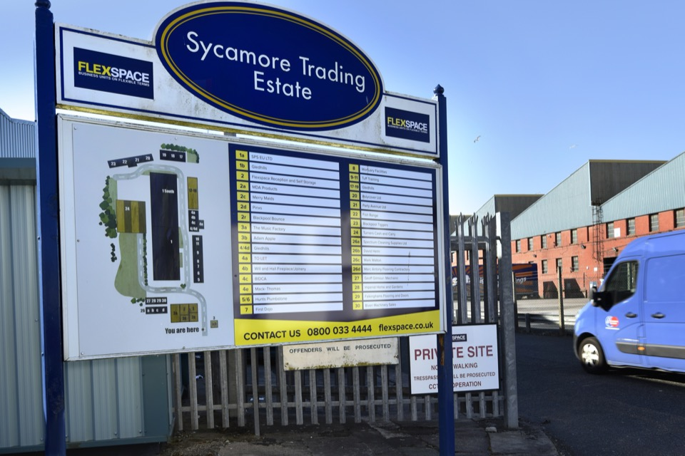 Business Units To Rent In Blackpool Sycamore Ind Estate